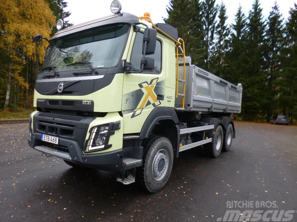 Volvo FMX EURO 6 OBS Miltal 577 Mil 6x6 Tippbil