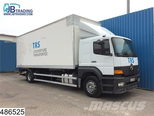 Mercedes-Benz Atego 1823 BDF, Manual