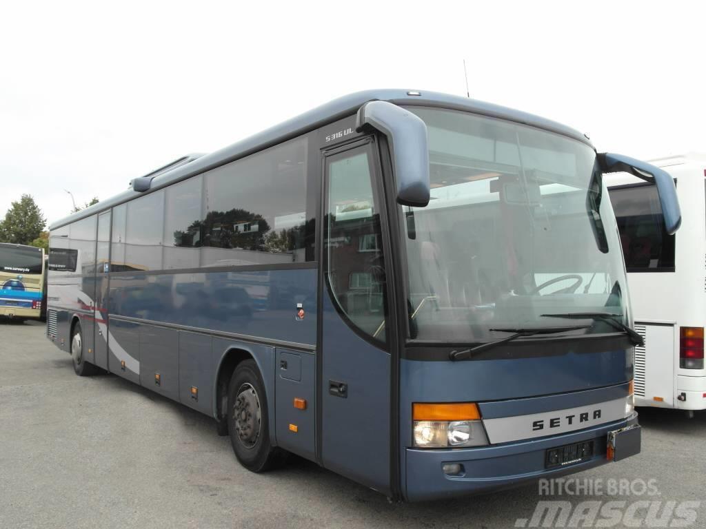 Setra S 316 UL-GT/ 55 Schlafsessel/Klima/TV/ WC/315 UL/