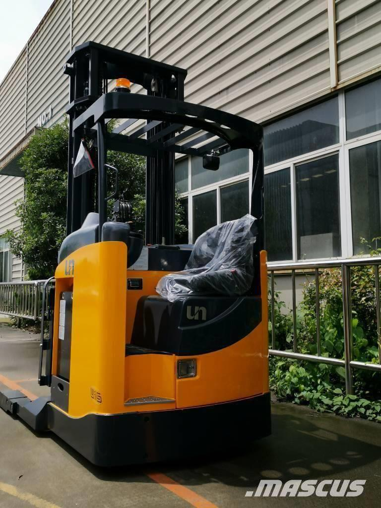 UN Forklift FBRS15 1.5ton Double Reach Truck with Zapi