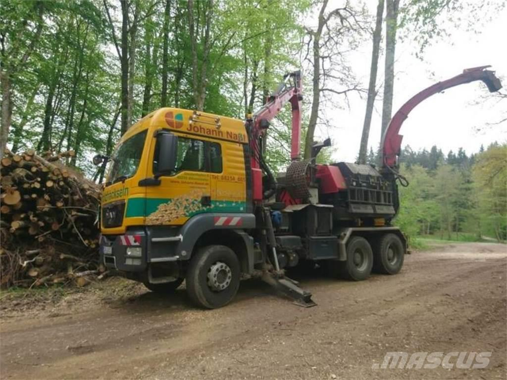 [Other] Holzhacker WT 11 NMV mit LKW