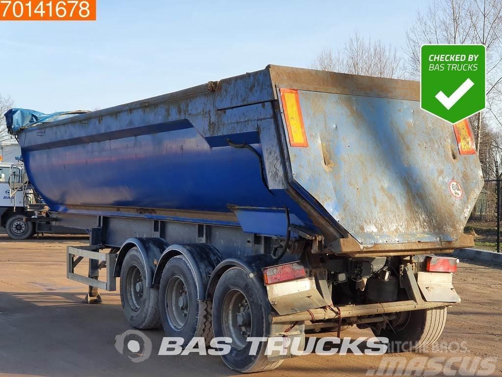 MOL 29m3 Steel Tipper Hydraulic Door Liftaxle