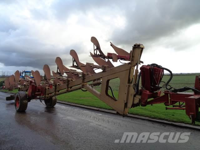 Goizin 9 furrow auto-reset semi-mounted plough