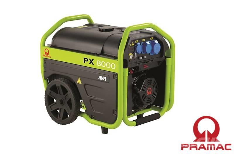 Pramac PX8000 400/230V 6 kVA/2 kVA