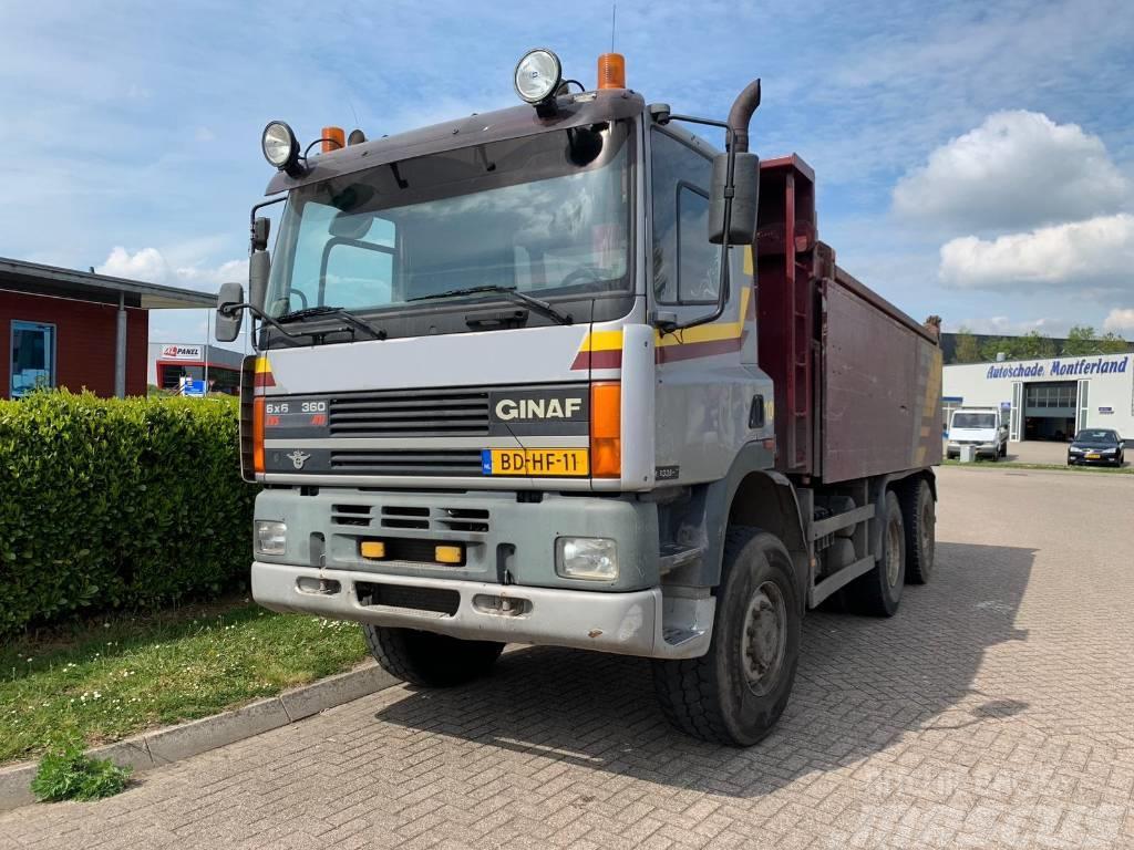 Ginaf M3335-S 6x6 Kipper