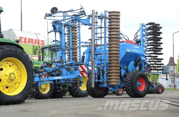 Lemken Solitair 9/600 + KA-DS + Quarz 7/600 A