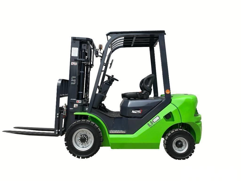 UN Forklift 2T Diesel Converted Lithium Battery Forklift ZAPI