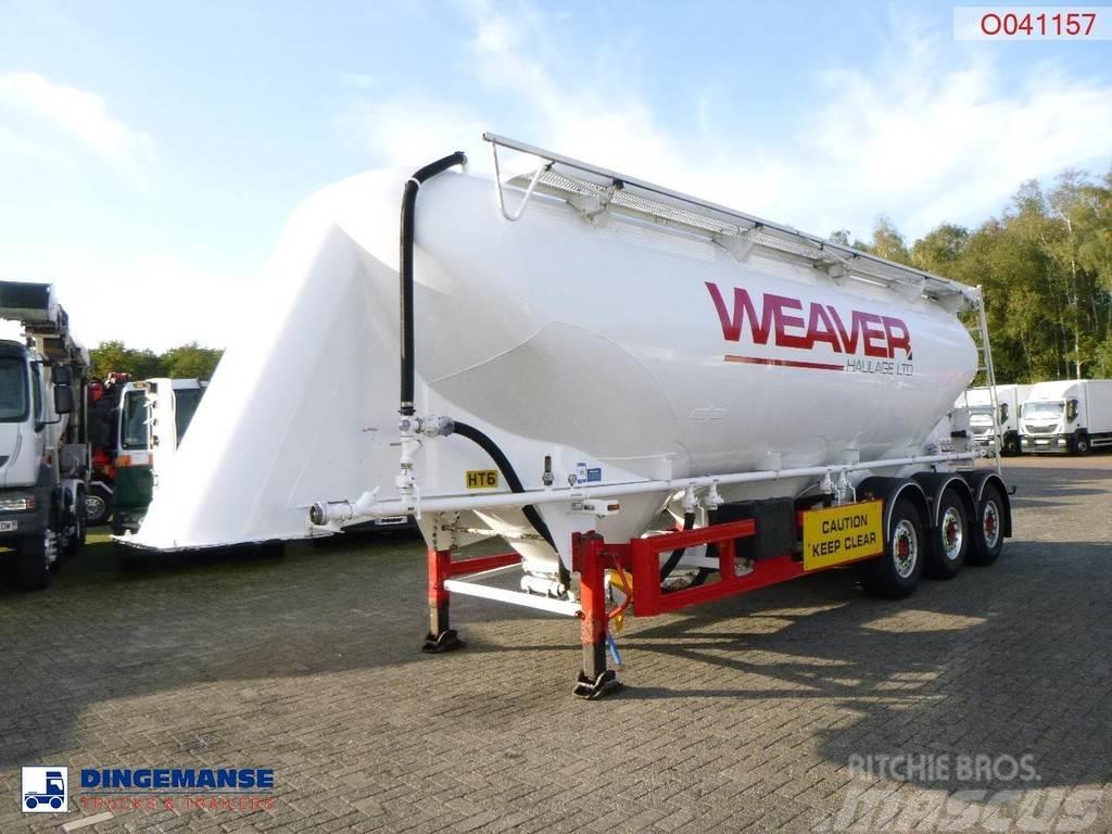 Spitzer Powder tank alu 40 m3