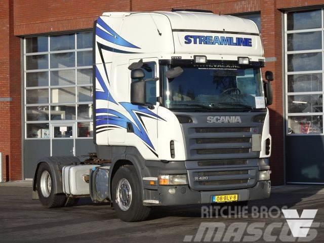 Scania R420 LA4x2MNA Euro 5,PTO-Kipperhydraulic