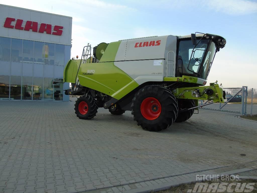 CLAAS TUCANO 570 4F