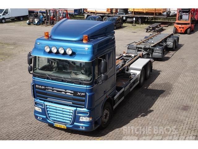 DAF XF460 6X2 Terberg Hooklift 25T / MOT: 03-01-2020