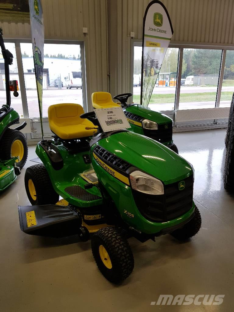 used john deere x105 auto riding mowers year 2017 price. Black Bedroom Furniture Sets. Home Design Ideas
