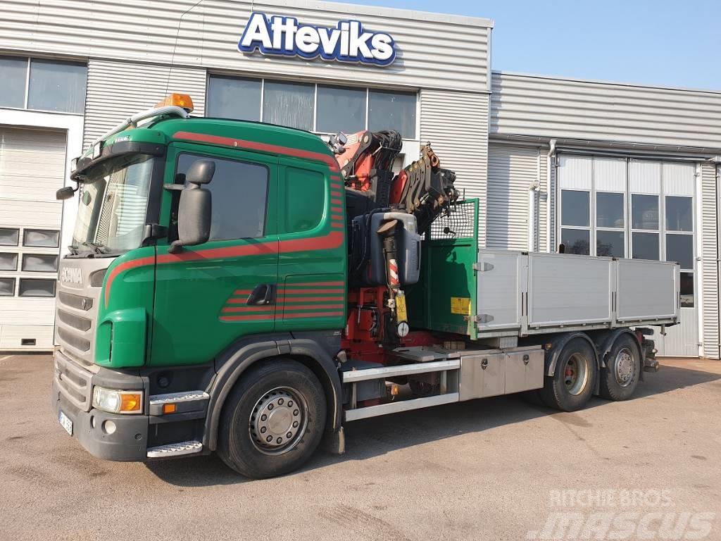 Scania G440 6X2*4 - TIPP/KRANBIL ENDAST 13.000MIL