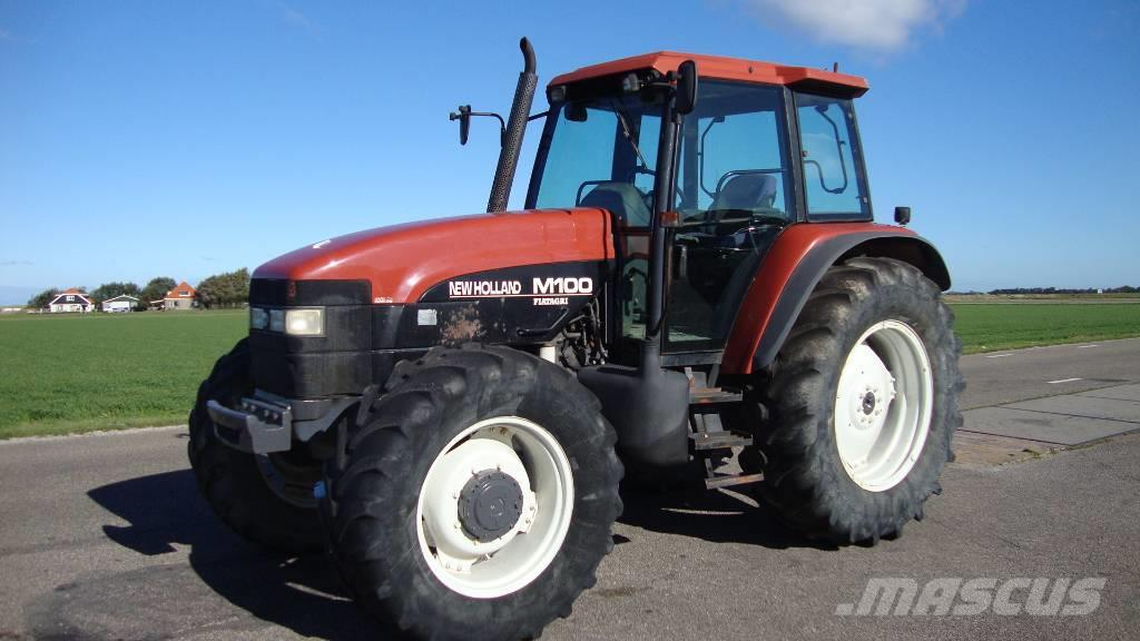 Used New Holland M100 tractors Year: 1998 for sale ...