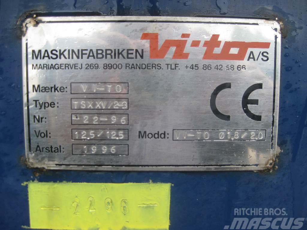 Vi-To Cooltanker / Køletank, 1996, Tanktrailer