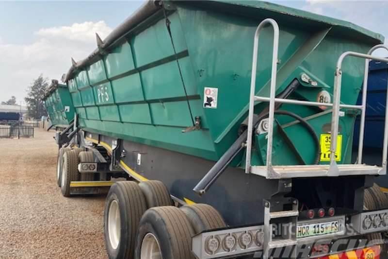 Sa Truck Bodies 45m³ Interlink Side Tipper Trailer