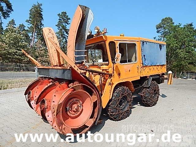 Unimog 411 Schneefräse Schneeschleuder 4x4 Winterdienst