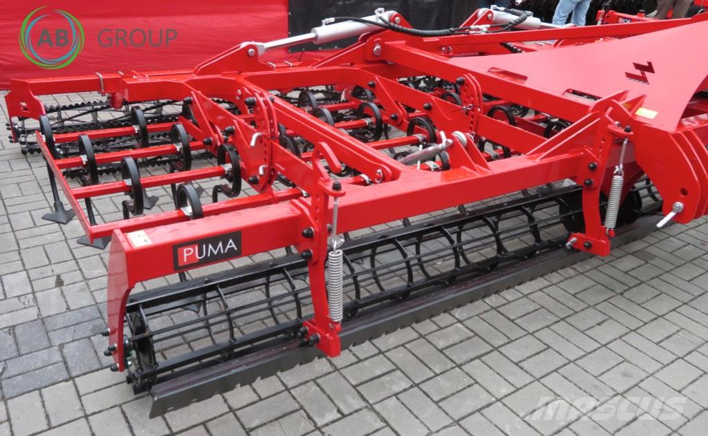 Awemak Hydraulic folding cultivator 5m/Cultivador