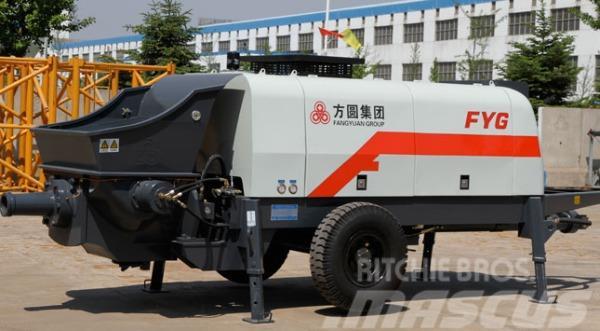 Fangyuan HBTS60-13-90 Motor Driven Concrete Traile