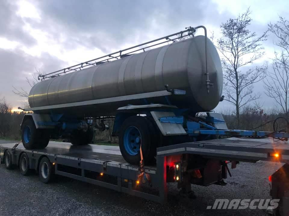 [Other] Tank Trailer Rustfri isoleret