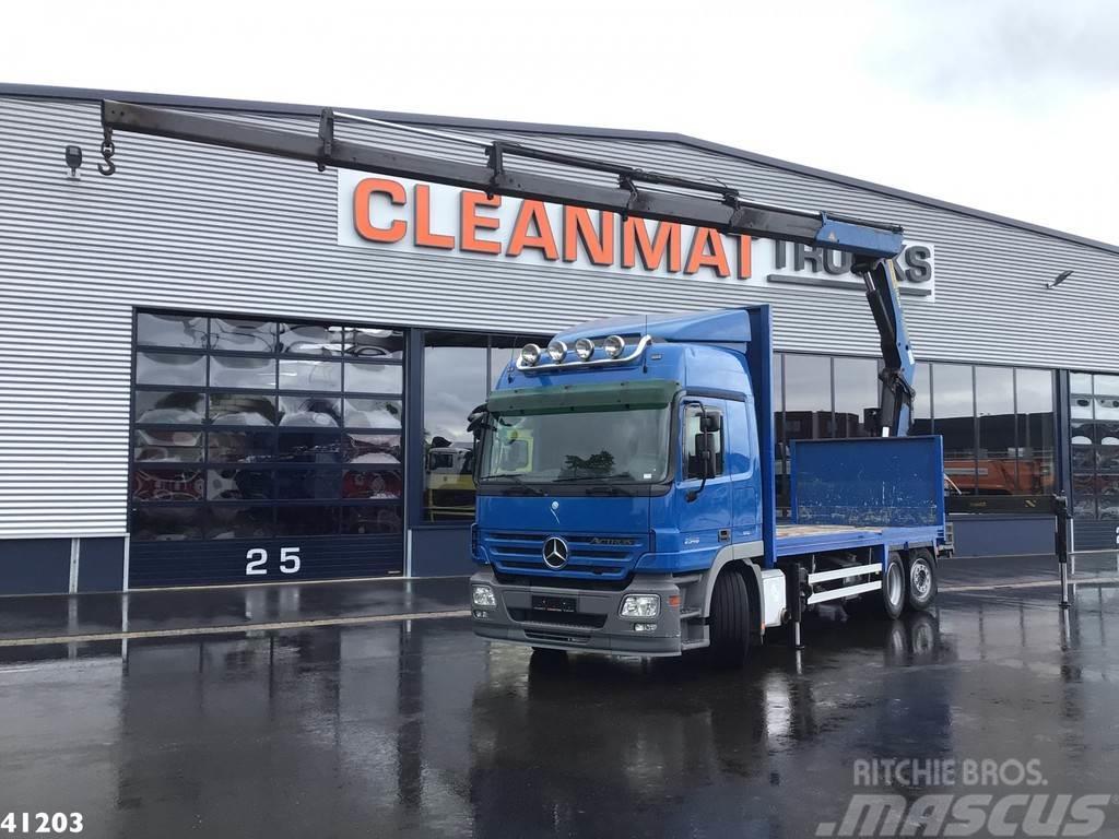 Mercedes-Benz Actros 2546 Palfinger 29 ton/meter laadkraan