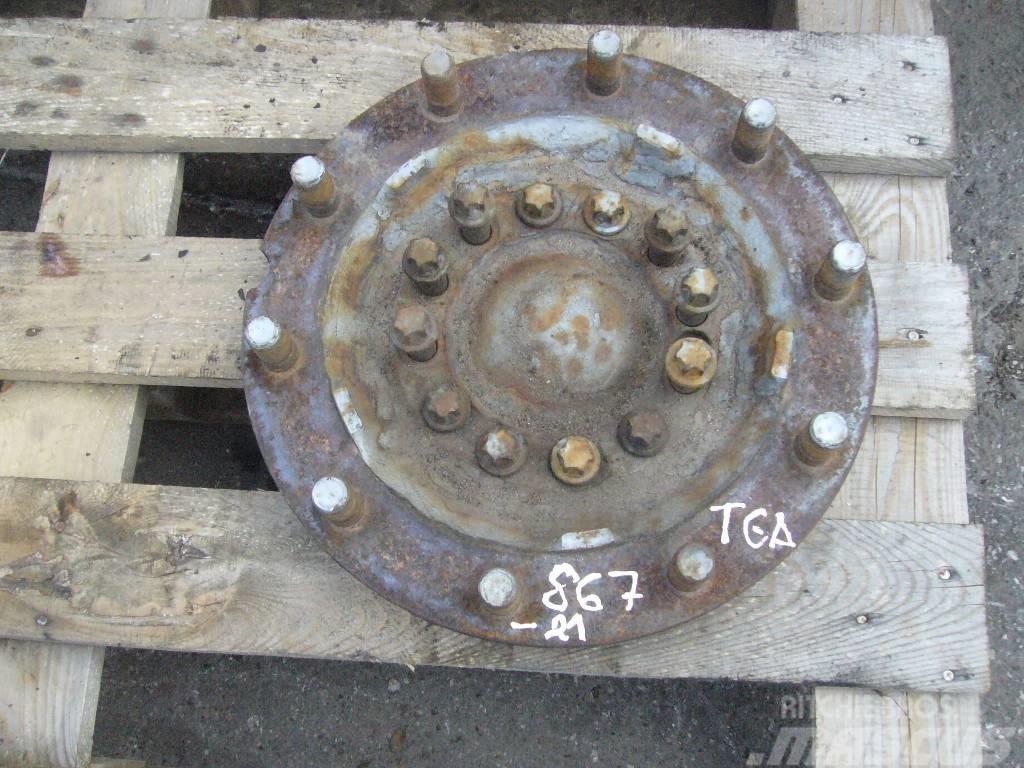 MAN TGA front left hub