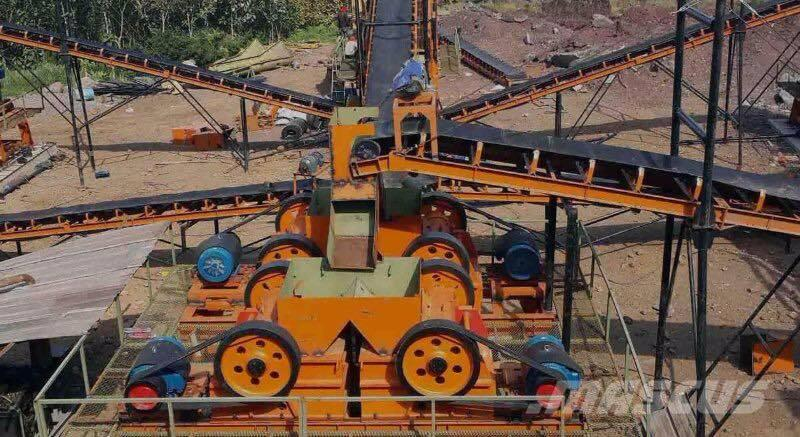 JBS 40-60tph Granite Mobile Crusher Plant