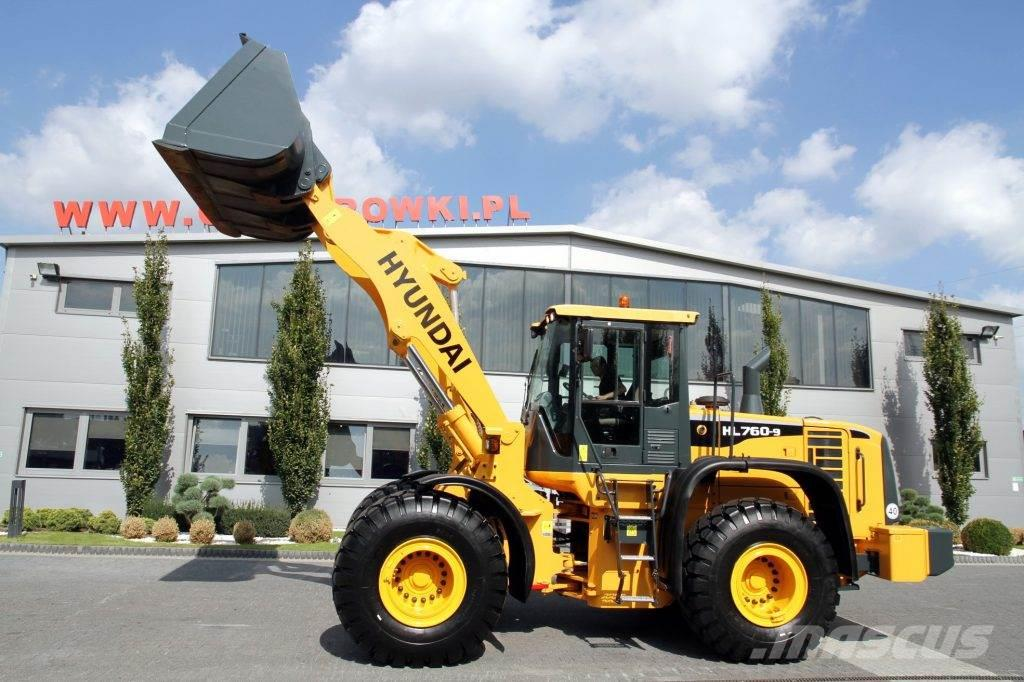 Hyundai WHEEL LOADER 18.7 T 760XTD-9