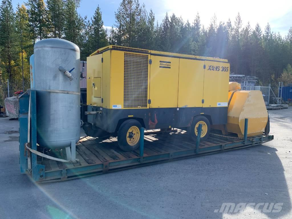 Atlas Copco XAHS365 Mercedes 12bar 22m3/min