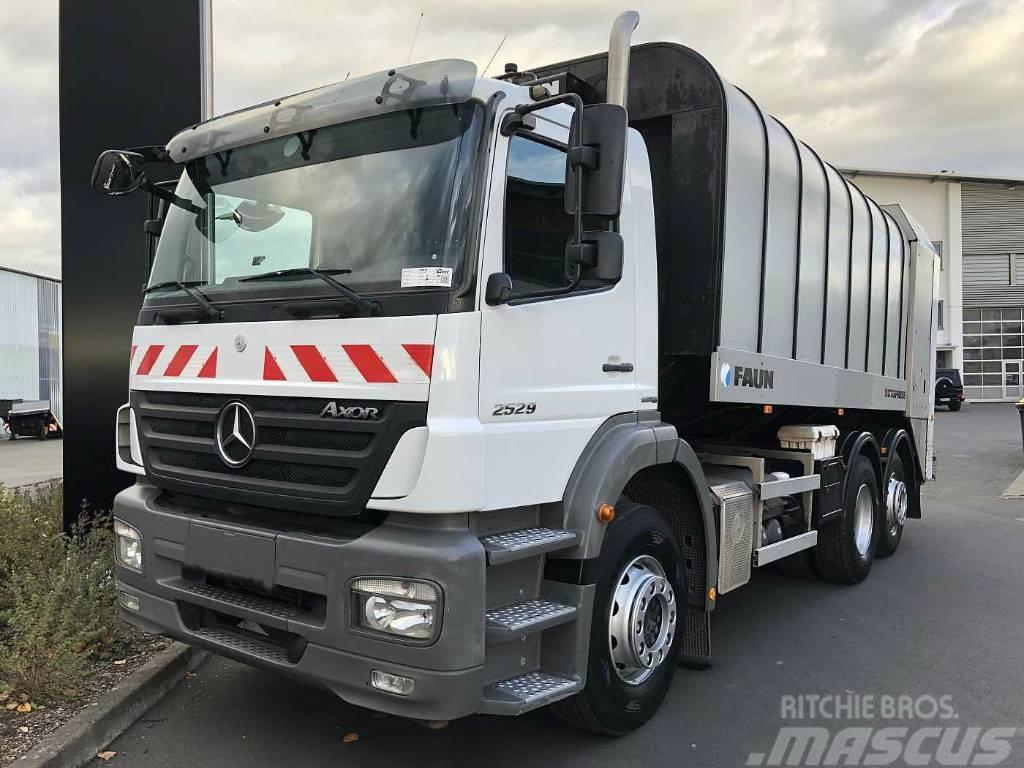 Mercedes-Benz Axor 2529L 6x2 Trash truck
