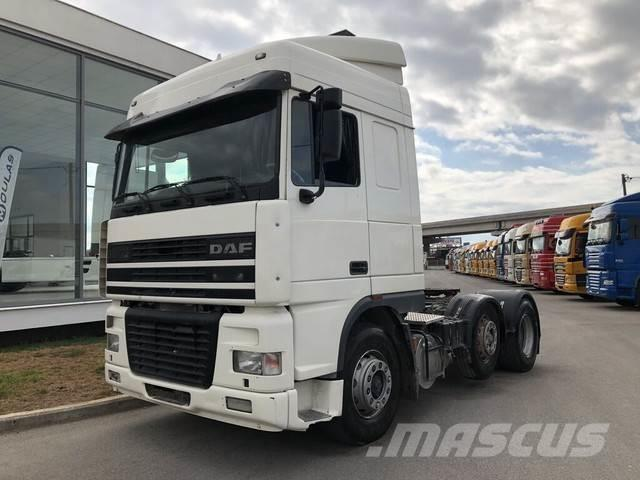 DAF 95XF.480 FTG 6X2 EURO2 MANUAL