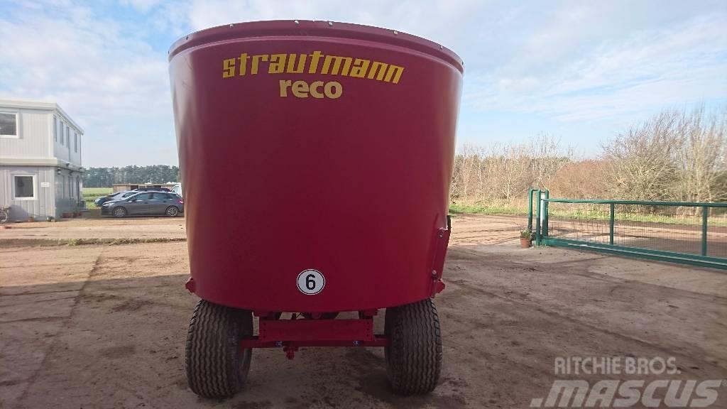 Strautmann Verti-Mix 1250 with Conveyor, 2015, Fullfodervagnar