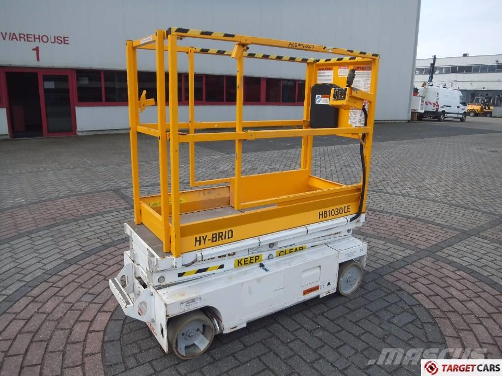 Hy-Brid HB1030CE Electric Scissor Worklift 500cm