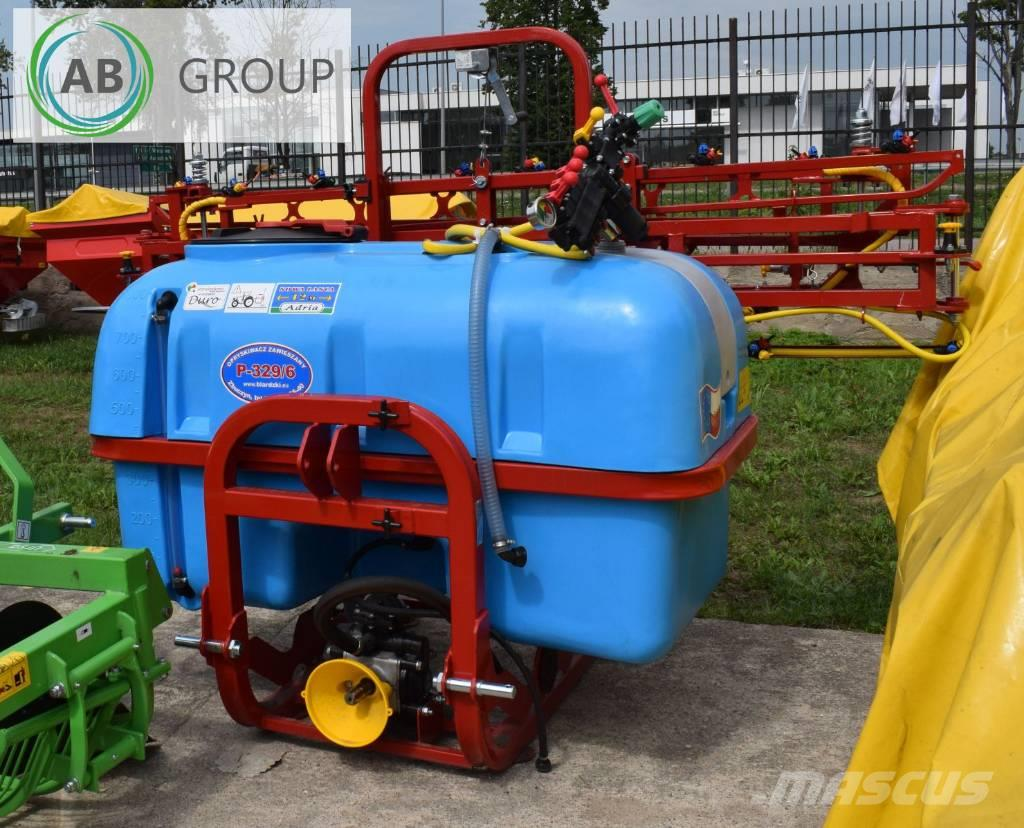 Biardzki Mounted sprayer 200l 6 m/Anbauspritze/Pulverizador