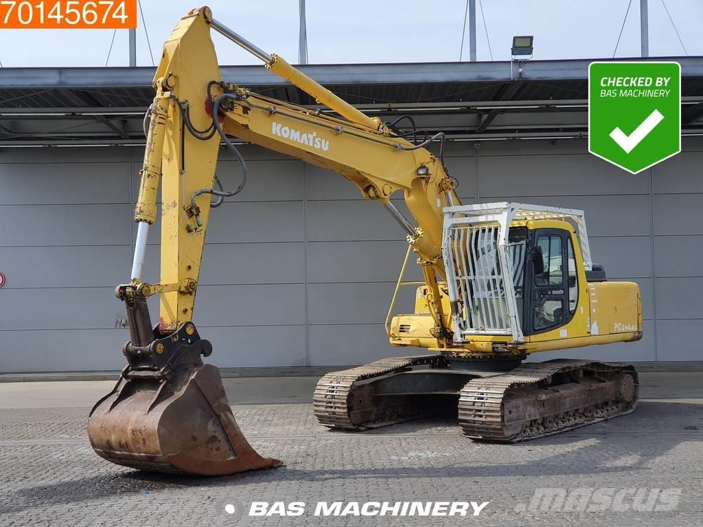 Komatsu PC240 NLC -6K ALL FUNCTIONS - TRIPLE BOOM