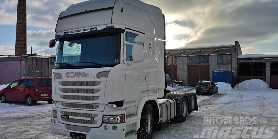 Scania R580LA6X2HNB with HYDRAULICS ,RETARDER