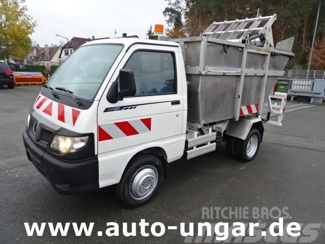 Piaggio Porter Maxxi Müllwagen Presse Schüttung Kipper 4m³