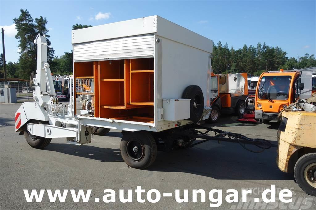 [Other] Hille  TK 6 A Kabelwagen Kabelverlegewagen Diesel