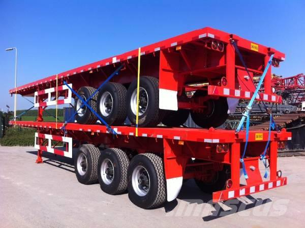 Lodico 3 axle container trailer, 2017, Växelflak-/Containersläp