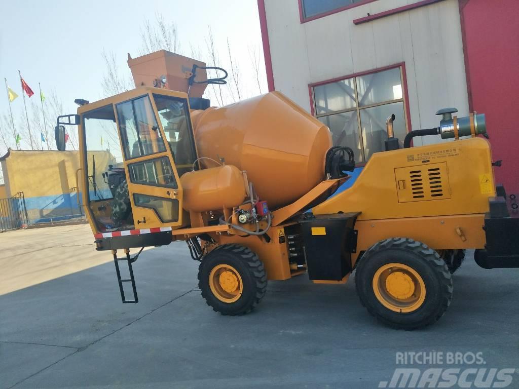 Disenwang 迪森王  DZJC- Concrete mixer --1m³