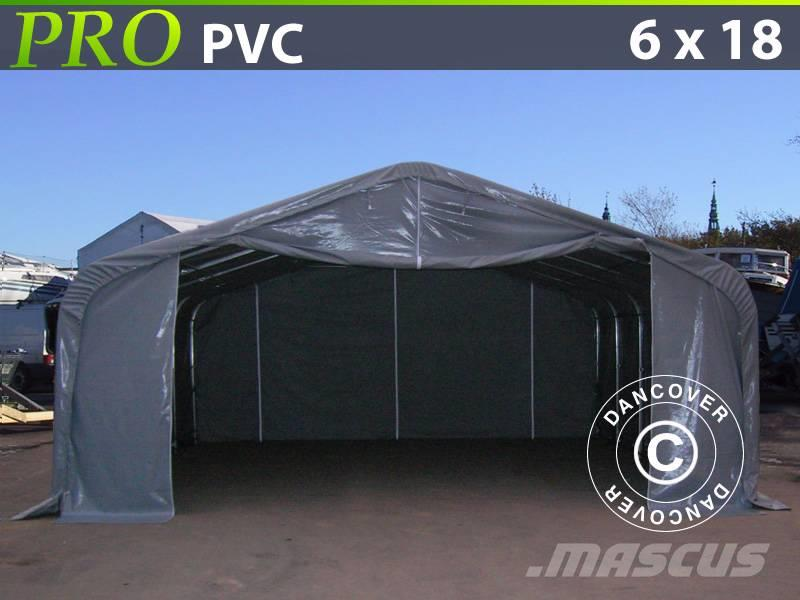 Dancover Storage Shelter 6x18x3,7m PVC Telthal