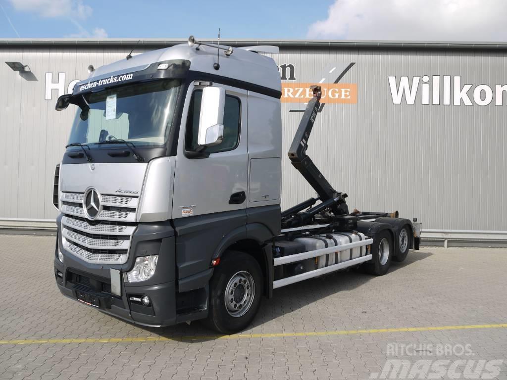 Mercedes-Benz Actros 2545L, 6x2, Hiab XR18S61
