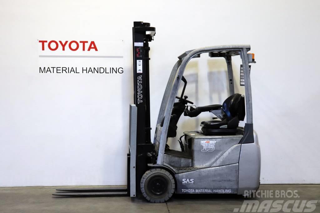 Toyota 8FBET15 Galvanized