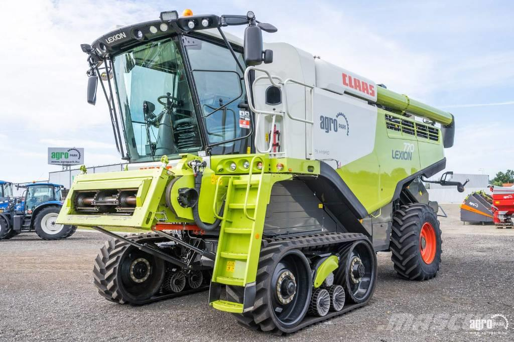 CLAAS Lexion 770TT APS (514/838 hours) rotary, 9,3 m