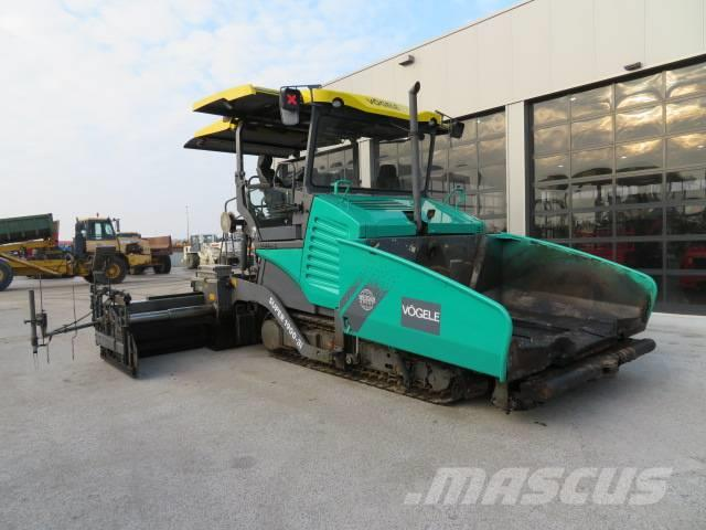 Used Vögele -super-1900-3i-ergoplus asphalt pavers Year ...