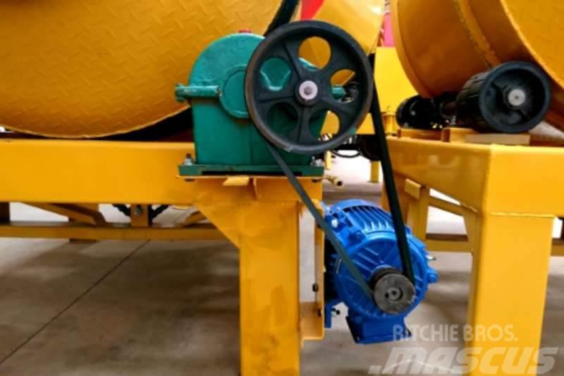 Sino Plant 600L Drum Mixer Electric 380v