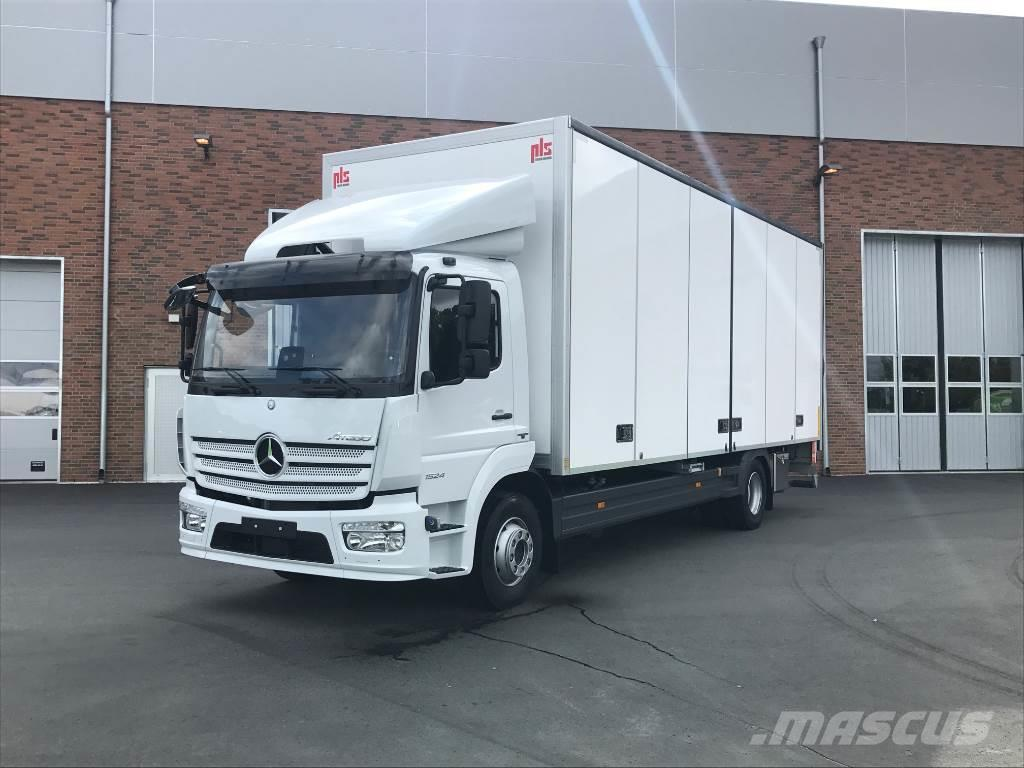 used mercedes benz atego 1524l box trucks year 2017 for sale mascus usa. Black Bedroom Furniture Sets. Home Design Ideas