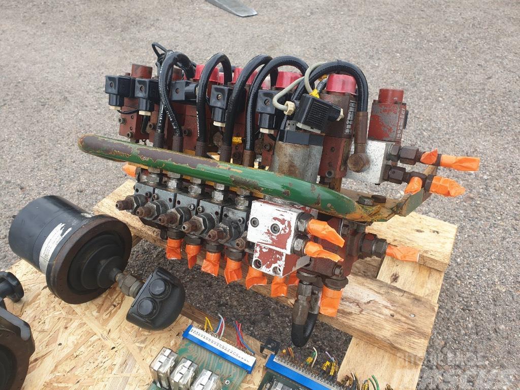 FMG hydraulic block+joystick