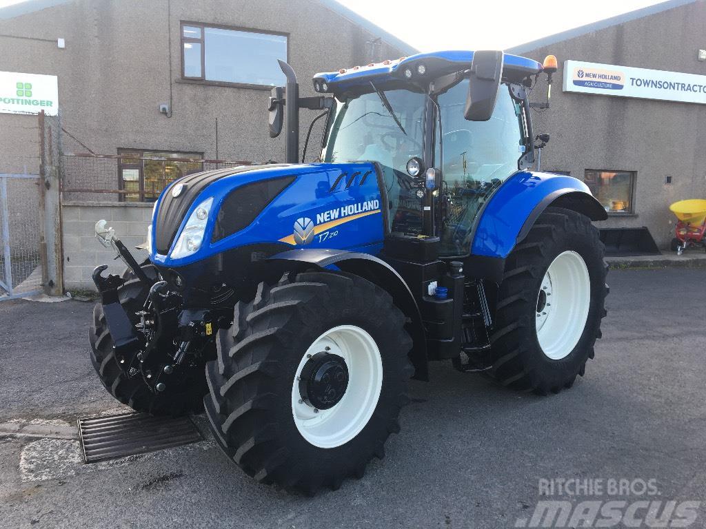 New Holland T7.210 Tier4b