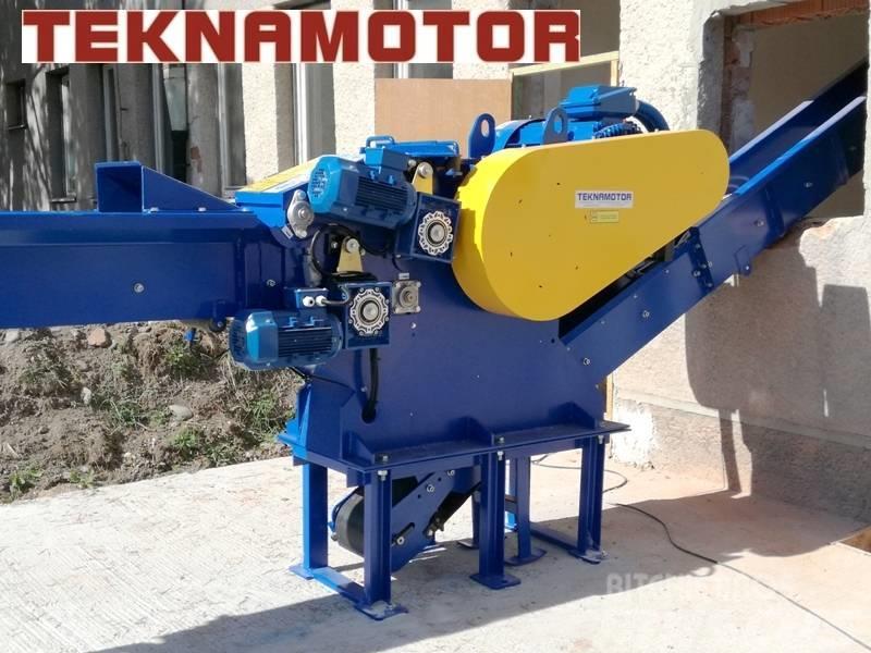 Teknamotor Skorpion 250 EB houtversnipperaar